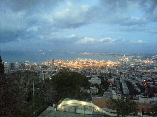Dan Gardens Haifa: view from the room 