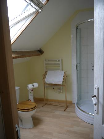 La Ferme de la Baie: Ensuite Bathroom