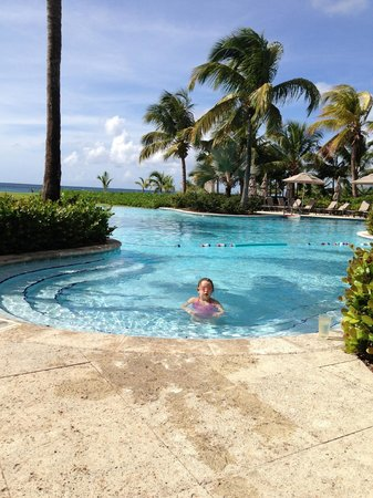 Four Seasons Resort Nevis, West Indies: The pool was never crowed, it was so peaceful.