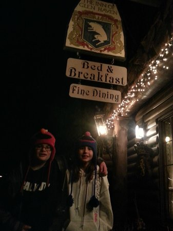 Inn of Glen Haven: The Kid's absolutely LOVED the food!!