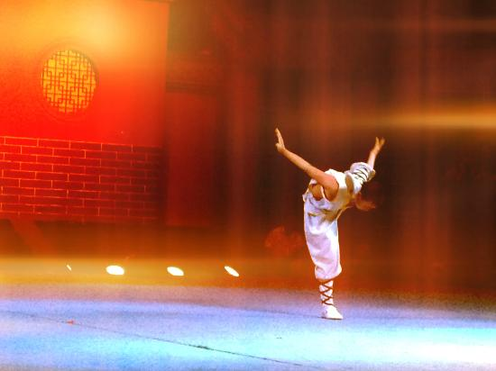 Shaolin Temple: monk after the the double jump