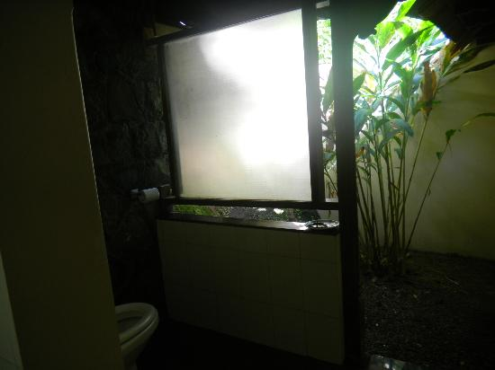 Paradisa Plantation Retreat: Play of light in the bathroom