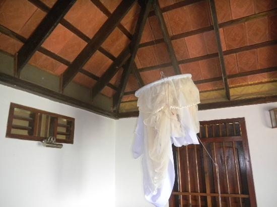 Paradisa Plantation Retreat: The round mosquito net