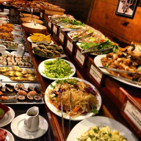Local And Continental Buffet Spread Picture Of Bonsai