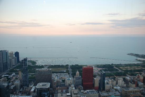 Lake Michigan: View from John Hancock Observatory/Willis Tower