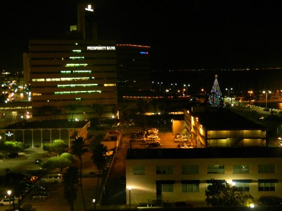 Best Western Corpus Christi: Christmas View from 10th Floor