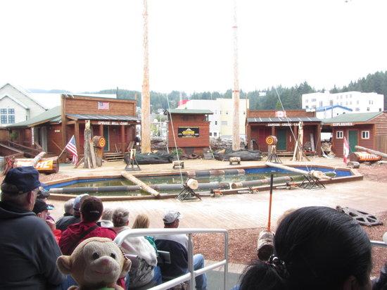 Great Alaskan Lumberjack Show: Too expensive