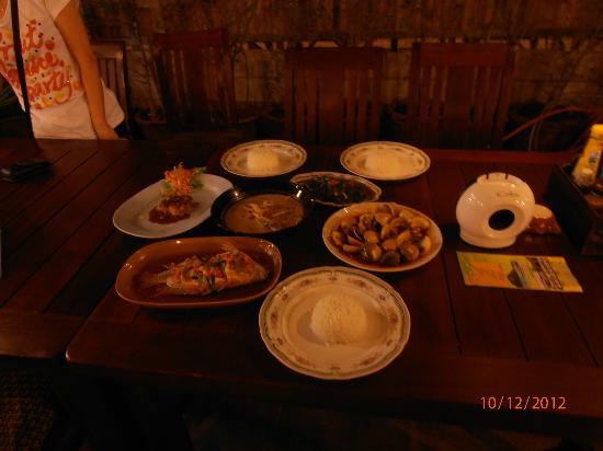 Aree BaBa: Our Dinner