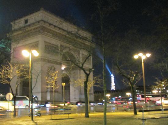 Mercure Paris Arc de Triomphe Etoile: A 5 minutes à pied, l'Arc de Triomphe