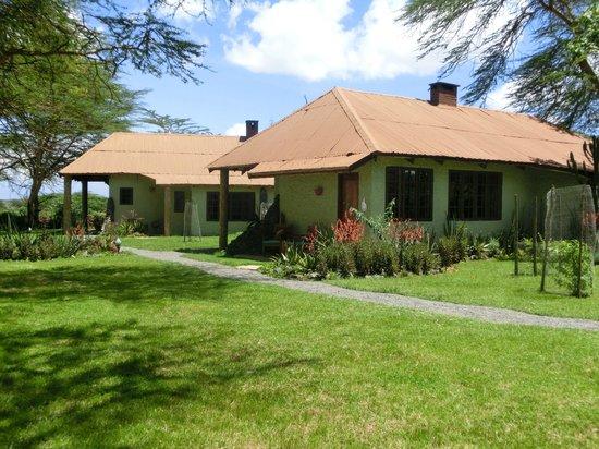 Hatari Lodge: Schön gelegen