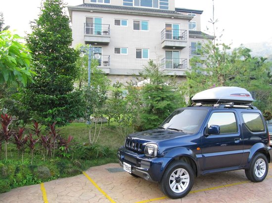 Jiye Resort: 飯店和廣場
