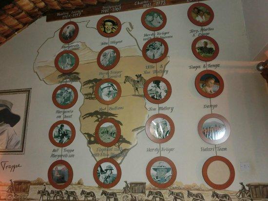 Hatari Lodge: Erinnerungen Historie Hatari