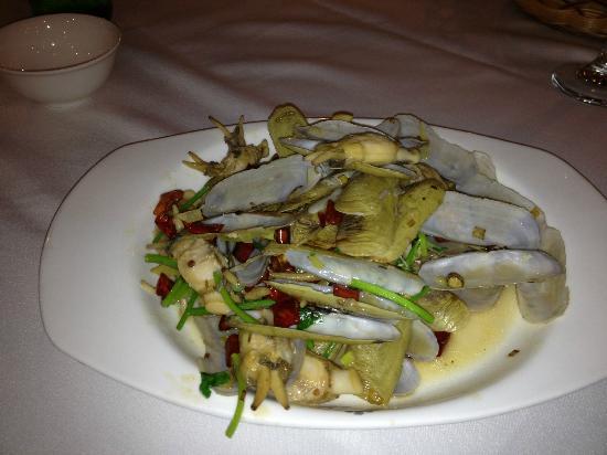 Blue Horizon Hotel (Qingdao Huangdao): Mussels