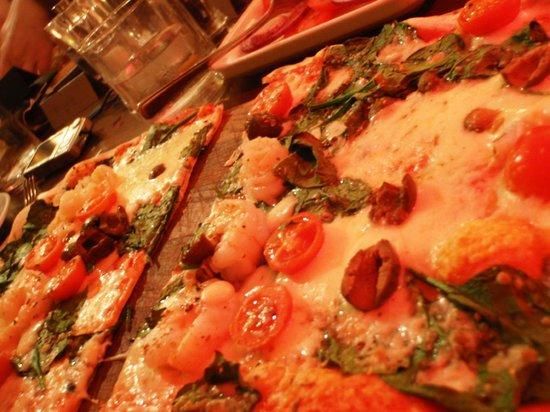 Prezzo - Ringwood: Gamberetti - poor toppings