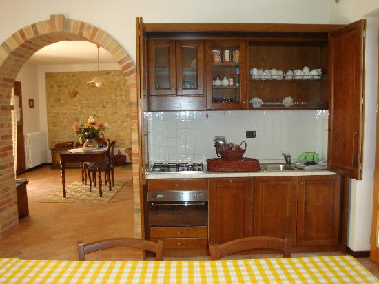 Casa-Sanmartino: Cucina attrezzata