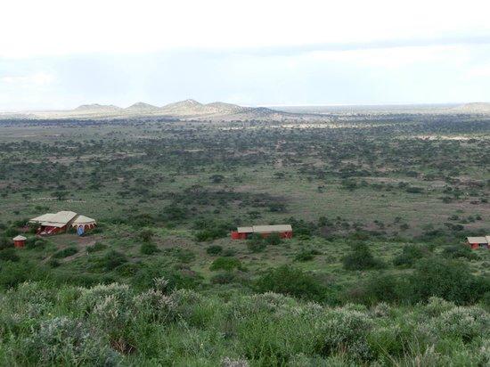 Shu'mata Camp: Blick vom Hügel