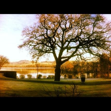 Cameron House on Loch Lomond: the view from our bedroom