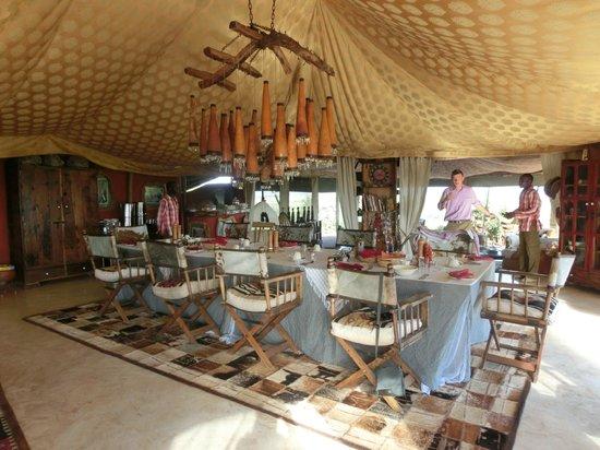 Shu'mata Camp: Hauptzelt