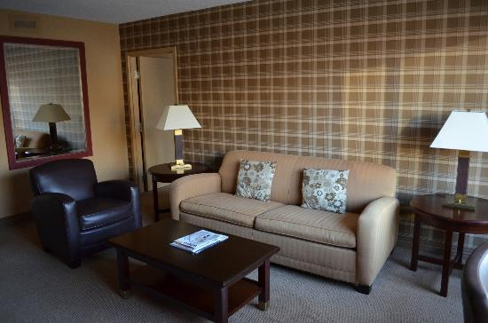 Sheraton Centre Toronto Hotel: Self-Contained Suite Living Room