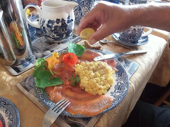 Wits End B & B: Connemara breakfast