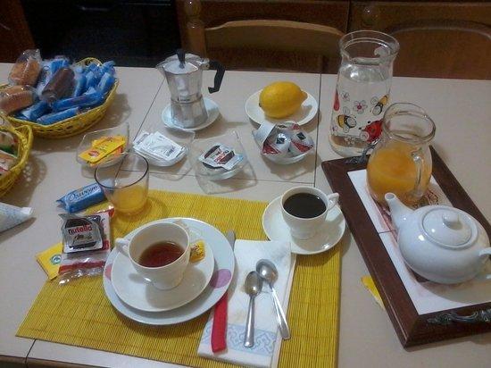 B&B Sa Babbaiola: La colazione