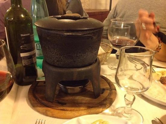 Taverna Lucifero: la fondue!!