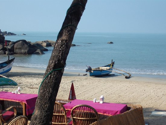 Papillon: view from the restaurant