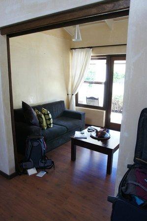 Aloe Guest House: Wohnzimmer