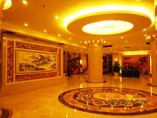 Jin Yan Fortune Grand Hotel : The lobby