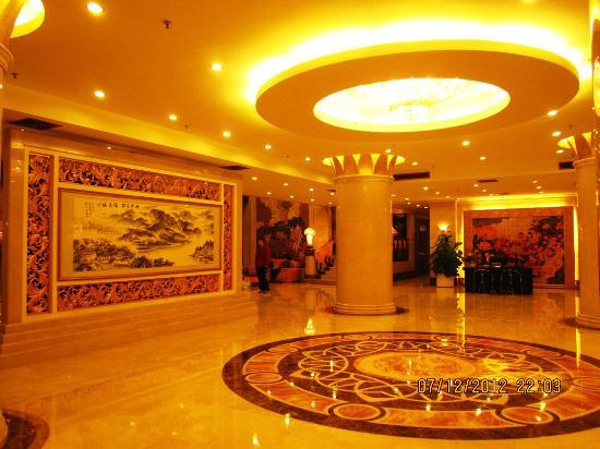 Jin Yan Fortune Grand Hotel: The lobby