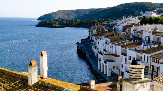Hotel Playa Sol: La baie, de l'église