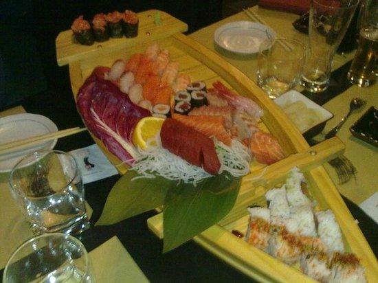 Zen Sushi : Barca x4