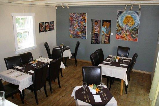 Dining room at Mateus Bistro - Mahone Bay