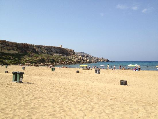 St. Paul's Bay, Malta: golden bay