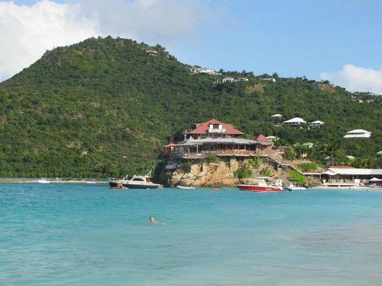 St. Jean, Saint-Barthélemy: Baie de St-Jean - Eden Rock Hotel