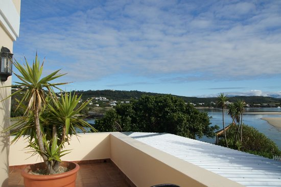 Milkwood Manor on Sea : Blick vom Balkon