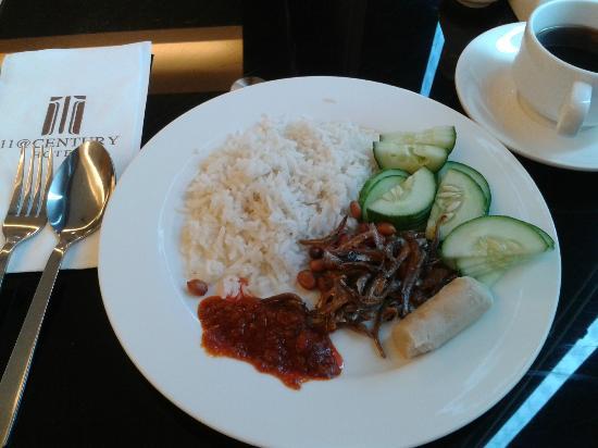 11@Century Hotel: Breakfast