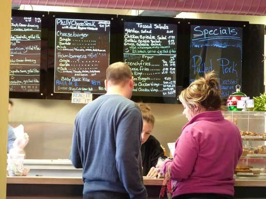 Spiedie and Rib Pit: order off the board