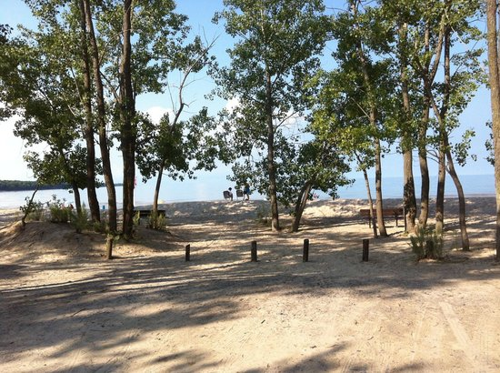 Picton, Canadá: Campers Beach, Outlet River, Sandbanks Provincial Park 2012