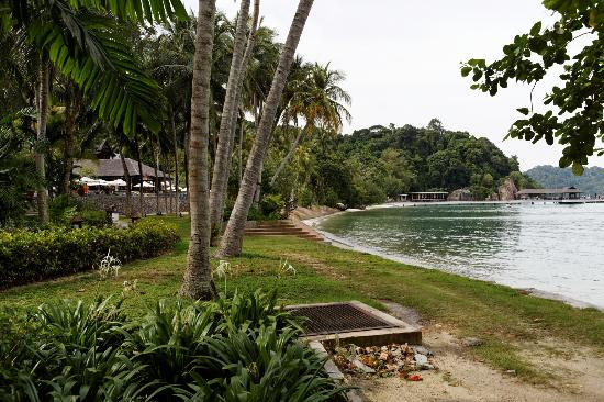 ‪منتجع Pangkor Laut Resort: Spa Village Pool‬