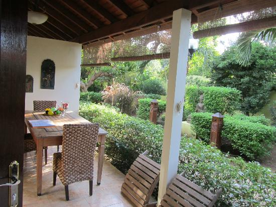 Villa L'Orangerie: terrace