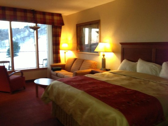 Seven Springs Mountain Resort: Our beautiful room