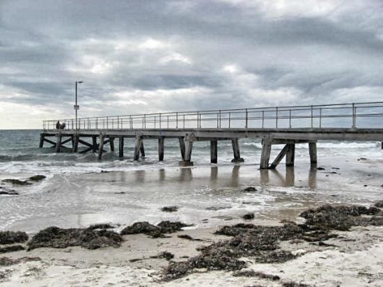 Beachside Holiday Park: Normanville Jetty