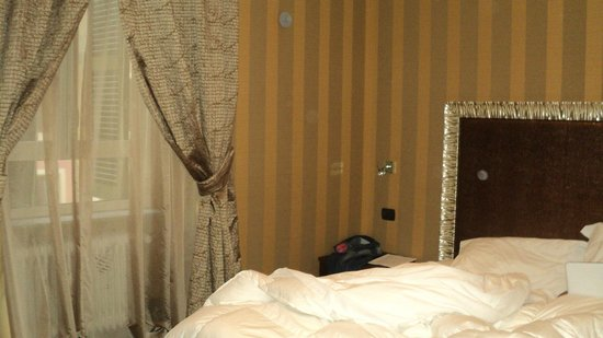 Roman Holidays: dormitorio