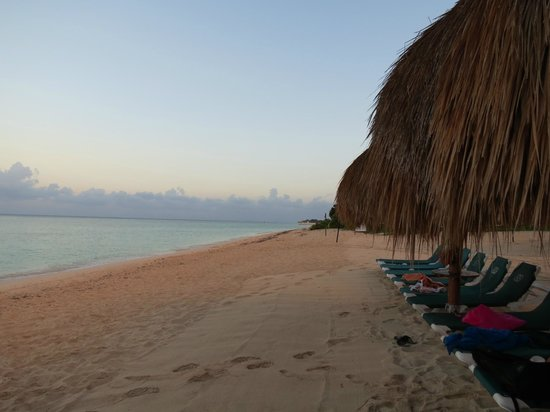 Royal Level at Occidental Cozumel: Morning on the Beach