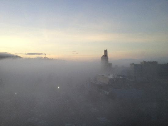 Renaissance Asheville Hotel : foggy morning view