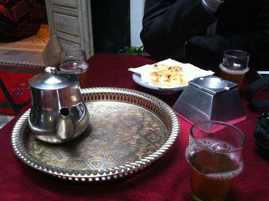 Riad Menzeh: Le thé à la menthe