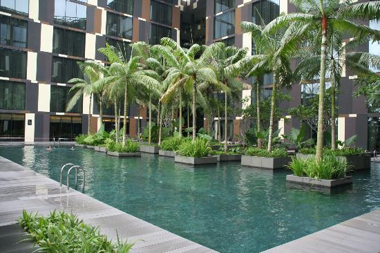 The Pool Picture Of Crowne Plaza Changi Airport Singapore Tripadvisor
