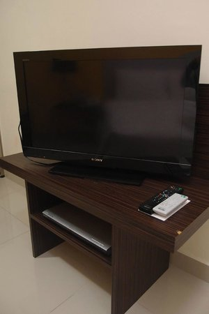 Fahrenheit Suites: TV in the master room