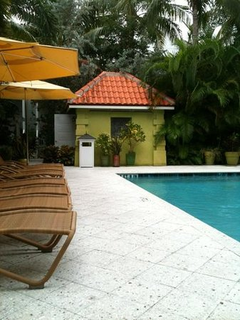 Parrot Key Hotel and Resort: private pool.